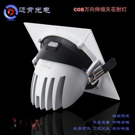 LED象鼻射灯30W大量批发COB射灯灯具商业照明灯具LED射灯25S30W