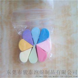駿泰SBR圓形八切乳膠粉撲(袋裝8個)