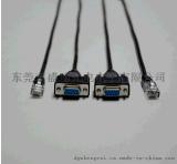 POS机串口线 INI USB 公头转RJ45母头