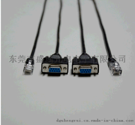 POS机串口线 INI USB **转RJ45母头