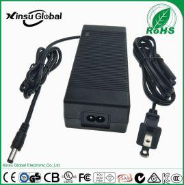 15V8A电源 15V8A xinsuglobal VI能效 美规FCC UL认证 XSG1508000 15V8A电源适配器