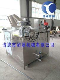 油炸机供应商 电加热燃气油炸机自动出料厂家图