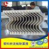 脫硫塔頂部使用不鏽鋼折流板除霧器 二級除霧器效果好