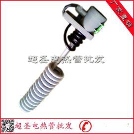 铁氟龙电热管 耐腐蚀耐酸碱性加热管 电镀设备液体加热器220V/2KW
