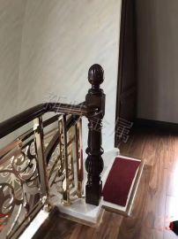 欧式别墅欧式铝艺楼梯雕花扶手围栏系列
