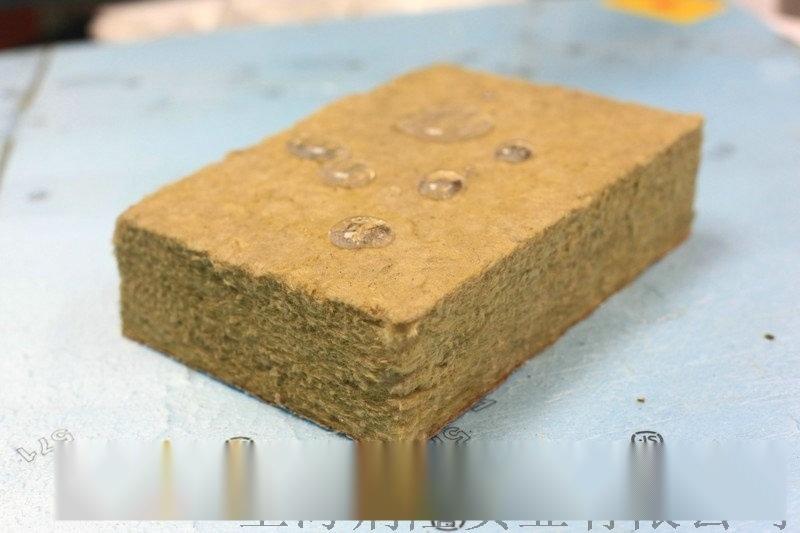 樱花憎水岩棉 干挂石材保温材料 岩棉板