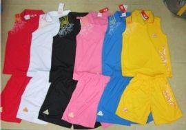运动篮球服套装