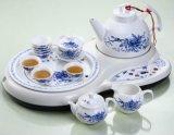 智能陶瓷茶艺套装-青玫瑰(HD-103A)