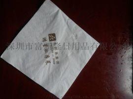 logo餐巾纸、logo盒抽广告纸巾定做厂家