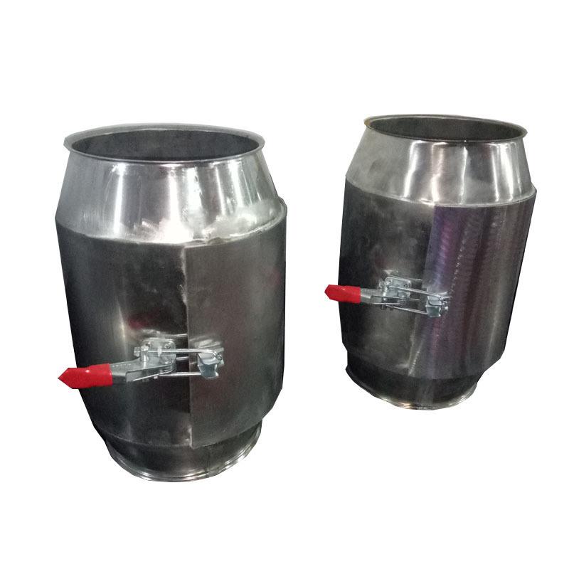 永丰 面粉厂单筒强磁磁选设备TCXT不锈钢磁选器