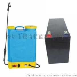 厂家供应农用工具锂电池 12.8V 喷雾器锂电池