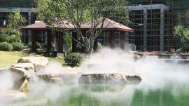 南平公园景观喷雾系统-智能高压人造雾工程厂家