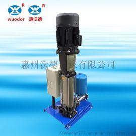 不锈钢多级离心泵WD-IQ变频给水生活水泵