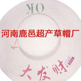 鹿邑草帽厂供应各种漂白帽广告帽本色帽量大从优