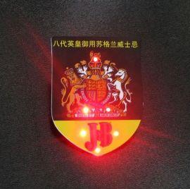 太原LED发光胸牌制作
