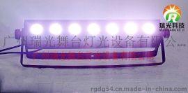 瑞光舞台灯光 7颗30W单颗点阵流水跑马洗墙灯DMX12洗墙灯 外控洗墙灯