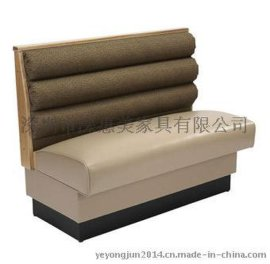 简约布艺单人沙发网吧沙发小户型沙发卡座酒店咖啡厅沙发椅特价