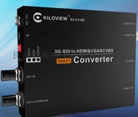 千视电子 HDMl转SDI转换器,支持色彩调节