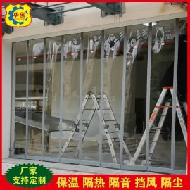 磁铁自吸软门帘pvc塑料透明磁性磁吸门帘挡风隔热 商场超市家装用
