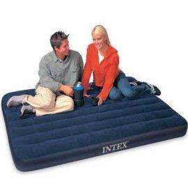 美国INTEX品牌充气床 单人双人蜂窝式拉带式天津市总代理