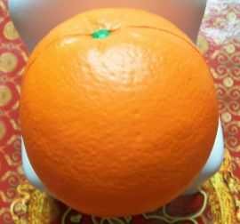 PU减压光面球/PU发泄弹力球/PU礼品球水果形状