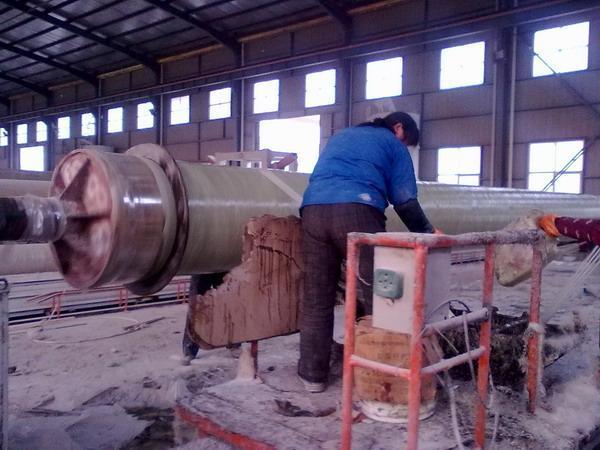 玻璃鋼夾砂管道成套設備
