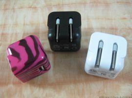 ETL认证USB充电器5V1000mA AC adapter UL认证苹果充电器