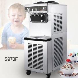 百世贸S970立式双系统商用冰淇淋机