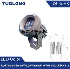 9W酒店廊柱照明LED投射灯 纯白光LED投射灯报价