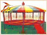 石嘴山童星游乐供应公园新型游乐设备双层蹦床