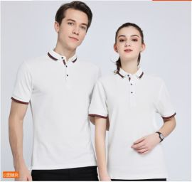 POLO衫定制工作服工装夏季T恤印字logodiy文化衫短袖工衣订做