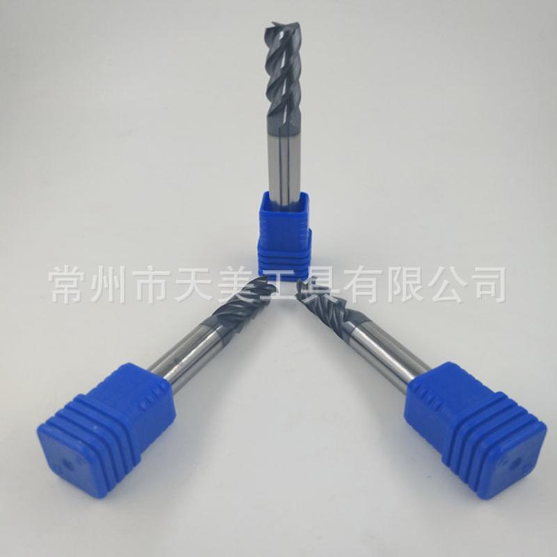 厂家直供 不锈钢铣刀 硬质合金58度钨钢平底刀 接受定制