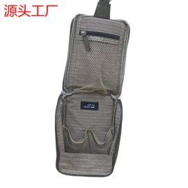 工厂定制挂钩洗漱包 旅行便携收纳包悬挂化妆包袋批发加工手提包