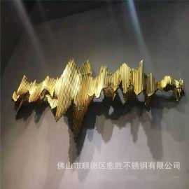 镇江拉丝玫瑰金不锈钢展示支架   玫瑰金不锈钢造型件非标制作