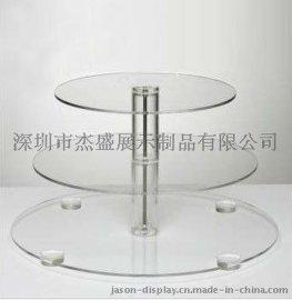 食品级材质:亚克力蛋糕架,有机玻璃食品架