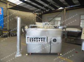 采购小型油炸机, 新型燃煤油炸锅, 油水混合油炸锅