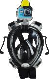 潜水面罩 潜水全套装 潜水镜 硅胶面镜潜水装备 浮潜面罩外贸出口爆款