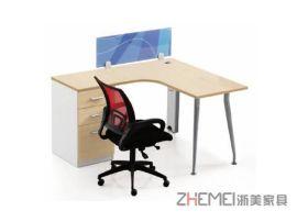 浙美办公家具职员办公台、员工电脑桌