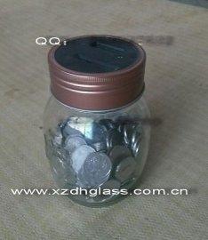 玻璃罐,玻璃储钱罐,储钱玻璃罐,储钱玻璃罐