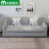大连软包家具sf-zf111-16双人沙发