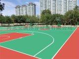 石家莊矽PU球場籃球場施工每平方價 安瀾體育材料廠
