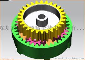 蜗轮蜗杆斜齿设计_专业静音蜗杆定制设计