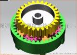 蝸輪蝸杆斜齒設計_專業靜音蝸杆定制設計
