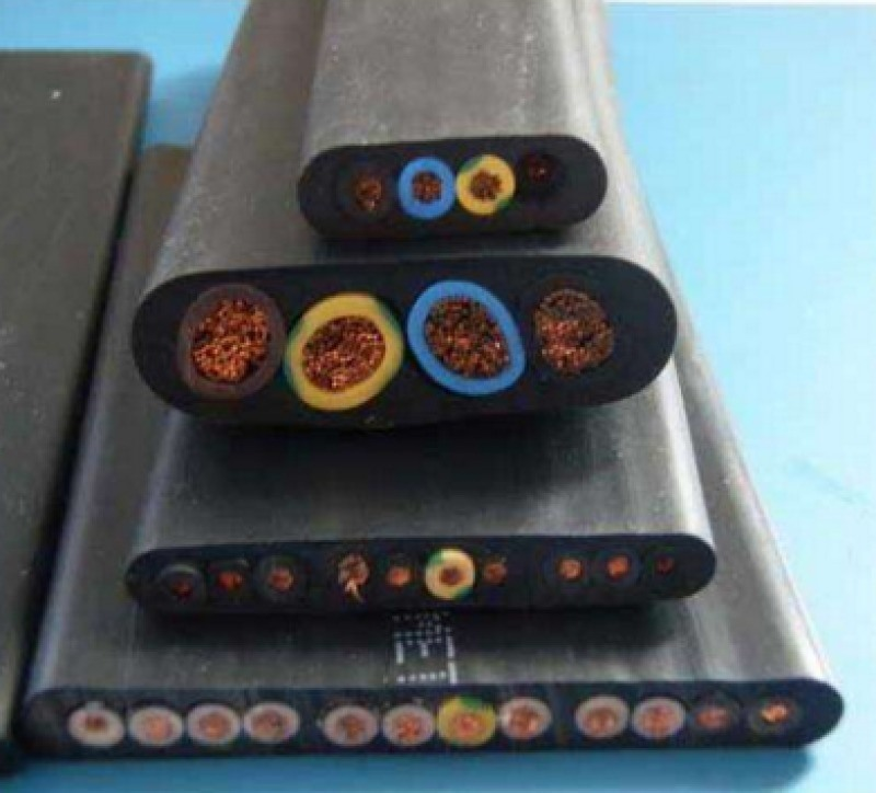 YCBPG钢丝加强屏蔽重型扁电缆