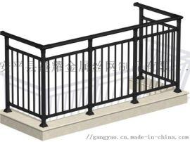 钢阳台护栏,阳台隔离安全栏杆,小区阳台防护栏杆,铁艺围墙护栏