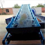 散粮装车机品牌/图片/价格 大倾角装车槽型皮带机 密封式皮带输送机