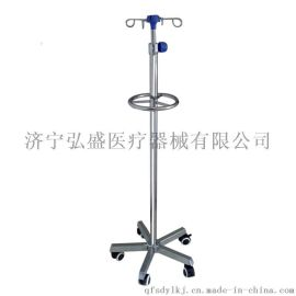 弘盛HS-923不锈钢手术室输液架带轮