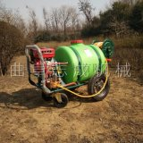 厂家直供推车式打药机160L汽油高压喷雾机果树园林远程喷药机
