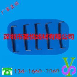 厦门电子线镀锡铜线0.5/0.6/0.8mm规格U型跳线批发