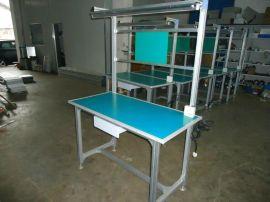 **铝合金工作台,耐用铝型材线棒工作台